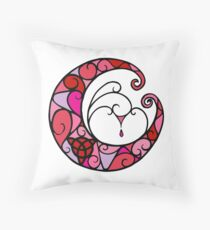 Blessings of Moon Throw Pillow