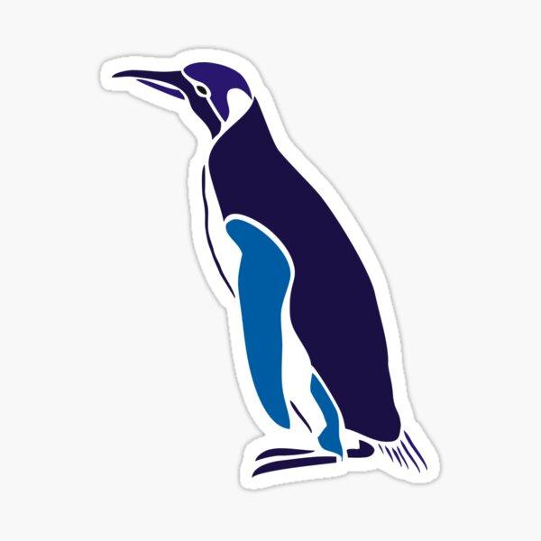 Penguin graphic Design Sticker