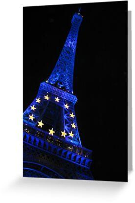 Eiffel Blue by LouieToo