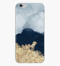 Extravagant Watercolor Ombre with Gold iPhone-Hülle & Cover