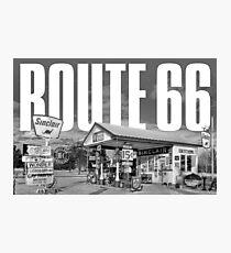 Route 66 Cityscape Photographic Print