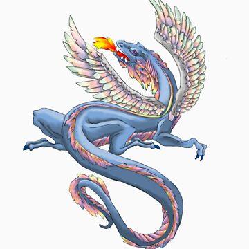 Rainbow Serpent by Arkani