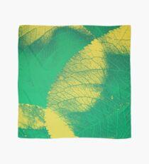 Green Leaf Spring Pattern Scarf