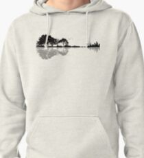 Nature Guitar Pullover Hoodie
