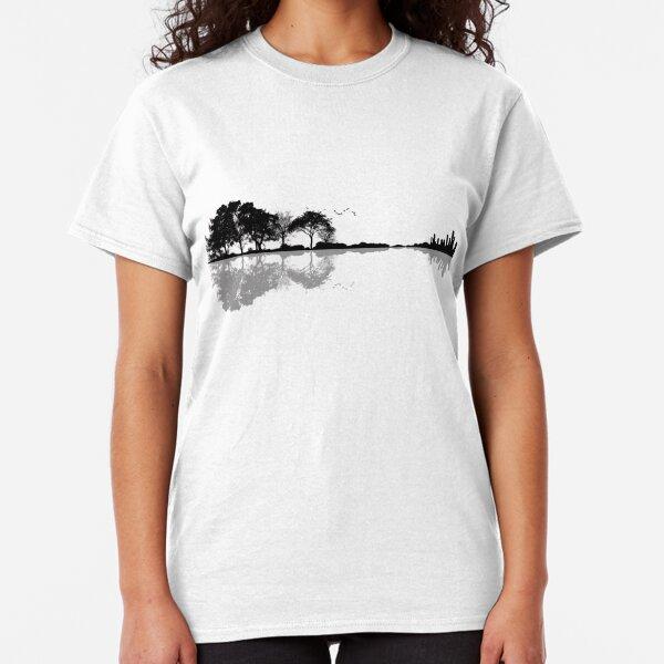 Guitarra de la naturaleza Camiseta clásica
