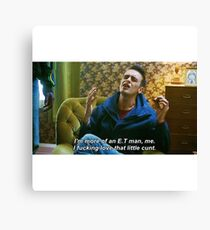 Misfits Rudy Quote Canvas Print