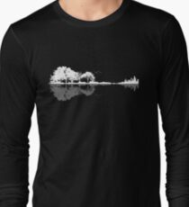 Nature Guitar  Long Sleeve T-Shirt