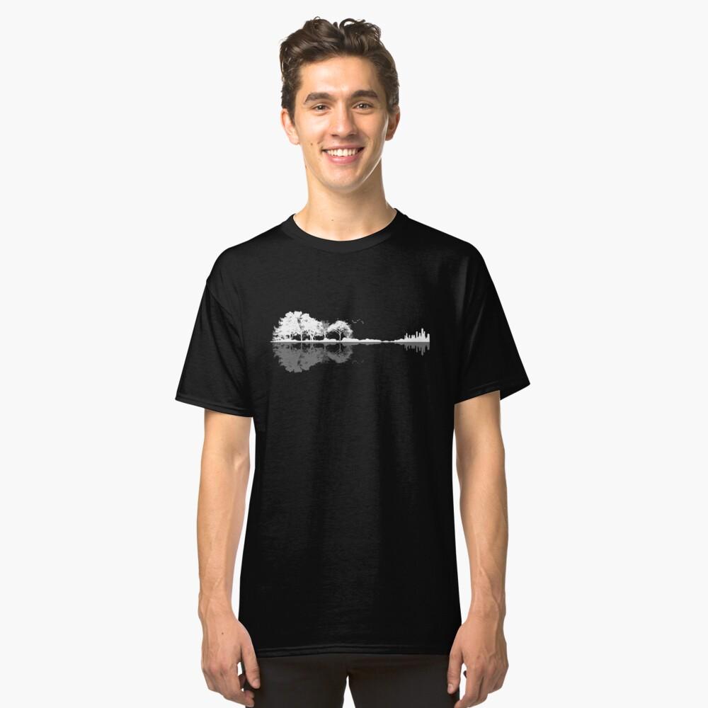Natur Gitarre Classic T-Shirt