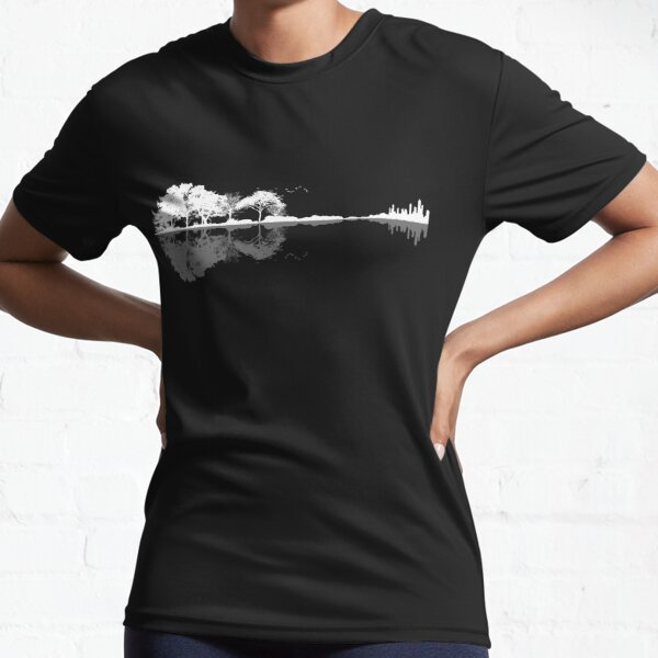 Nature Guitar  Active T-Shirt