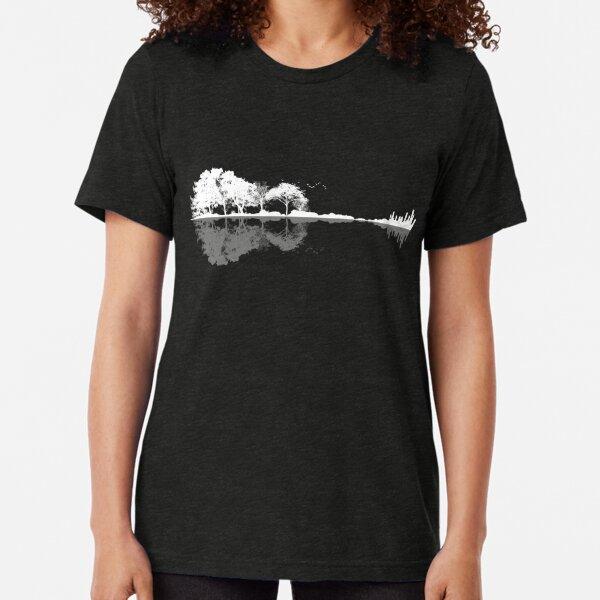 Naturgitarre Vintage T-Shirt