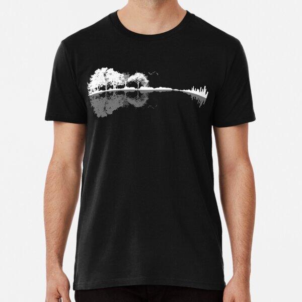 Nature Guitar  Premium T-Shirt