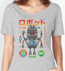 Robot 4.0 - Kitchen Edition Women's Relaxed Fit T-Shirt