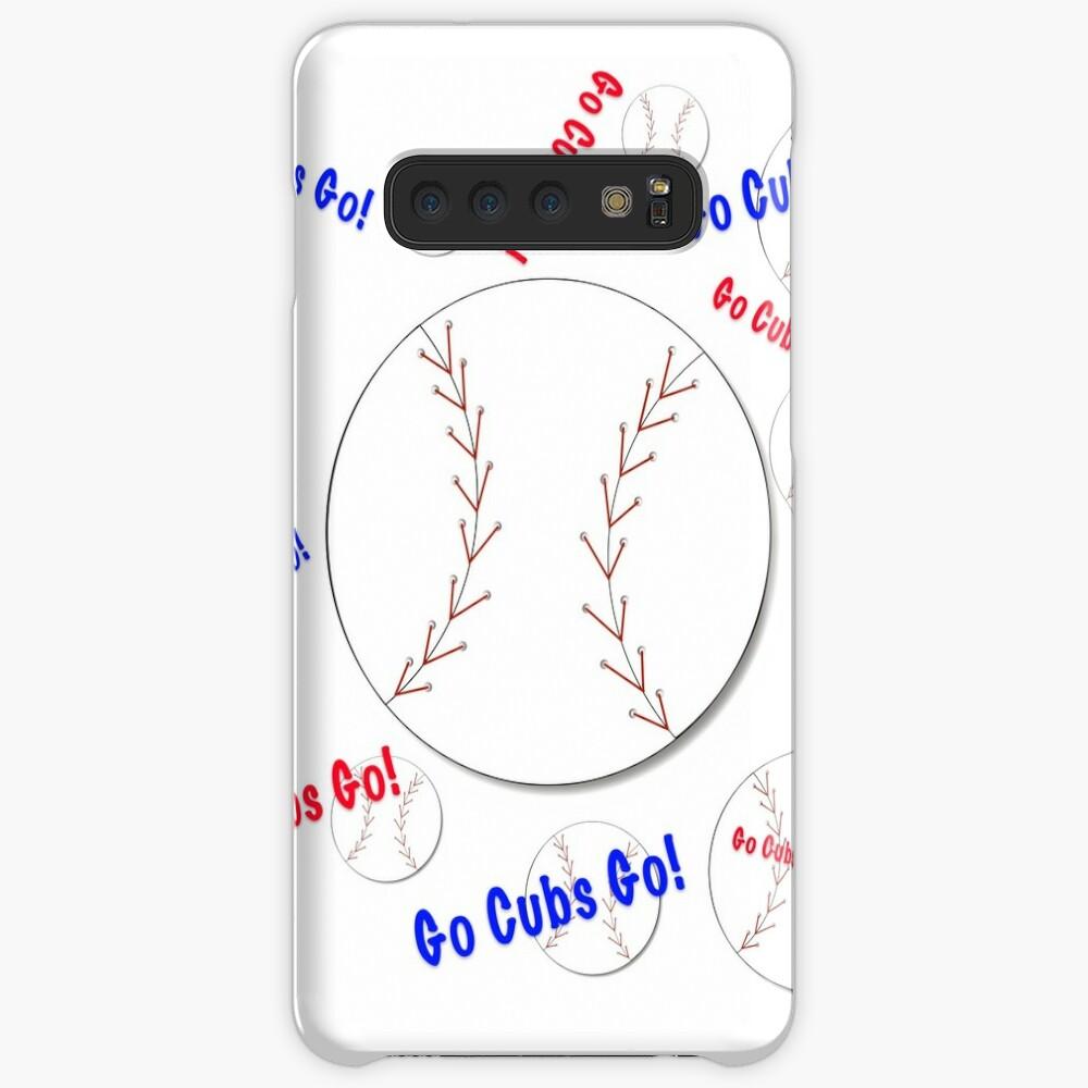 Go Cubs gehen! Baseball Hülle & Klebefolie für Samsung Galaxy