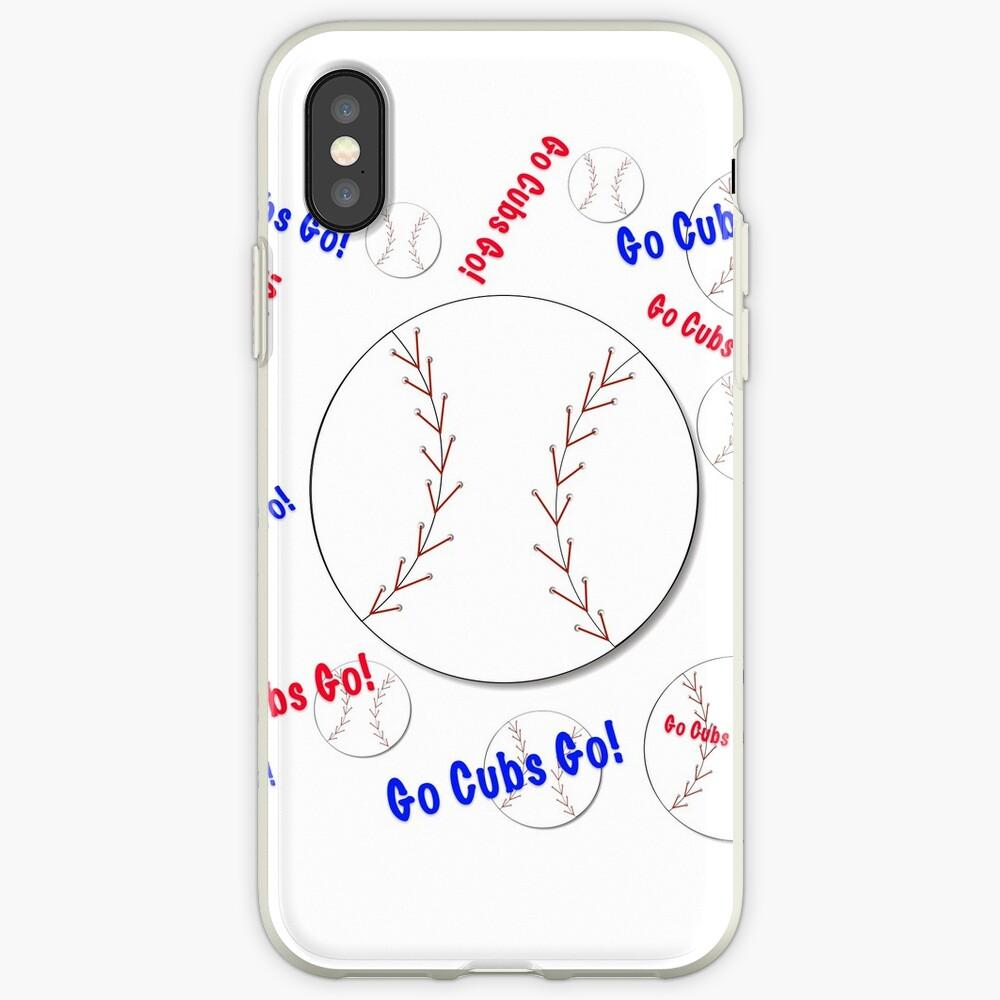Go Cubs gehen! Baseball iPhone-Hülle & Cover