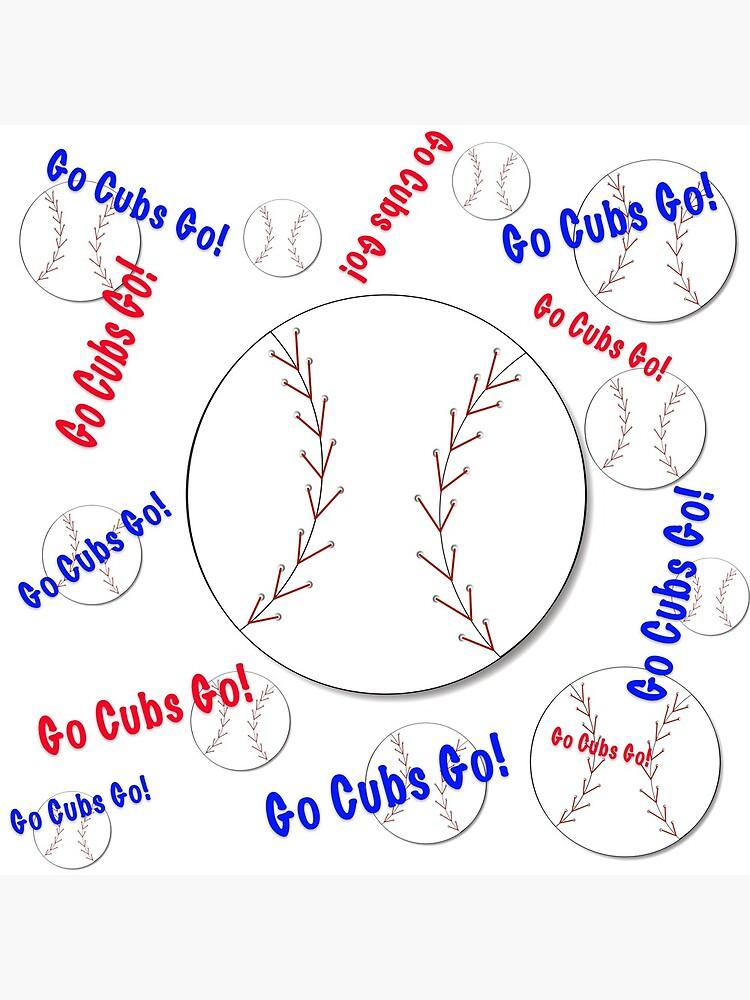 Go Cubs gehen! Baseball von lmocimages