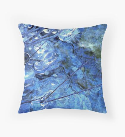 Ice Designs Throw Pillow