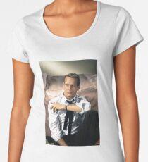 Paul Newman black tie Women's Premium T-Shirt