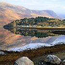 Glencoe village by Alexander Mcrobbie-Munro