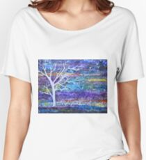 Abstract Landscape tree Women's Relaxed Fit T-Shirt