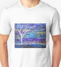Abstract Landscape tree Unisex T-Shirt