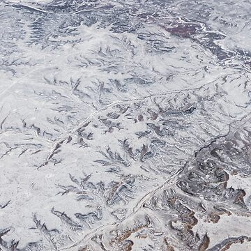 North America Winter Aerial Landscape by cheesim