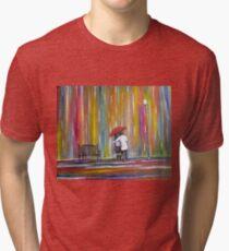 Love in the Rain Tri-blend T-Shirt