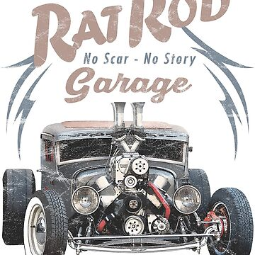 Rat Rod Garage by hotrodz