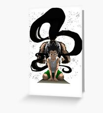 gon freecs greeting cards redbubble