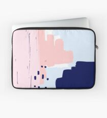 Modern Abstract Brush Stroke Art Laptop Sleeve