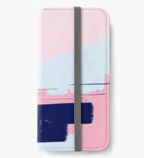 Modern Abstract Brush Stroke Art iPhone Wallet/Case/Skin