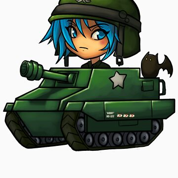 tank girl by lubasa