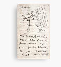 I Think - Charles Darwin 1 Metal Print