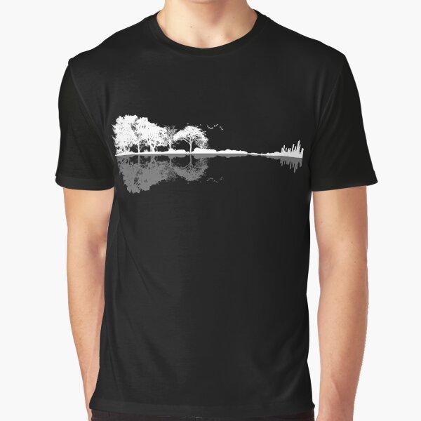 Nature Guitar  Graphic T-Shirt
