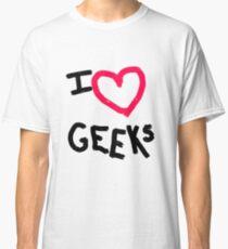 I heart Geeks Classic T-Shirt