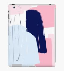 Modern Abstract Brush Stroke Art iPad Case/Skin
