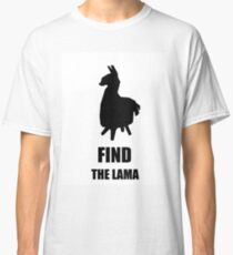 FIND THE LAMA Classic T-Shirt