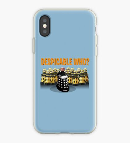 DESPICABLE WHO? iPhone Case
