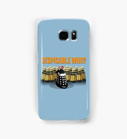 DESPICABLE WHO? Samsung Galaxy Case/Skin