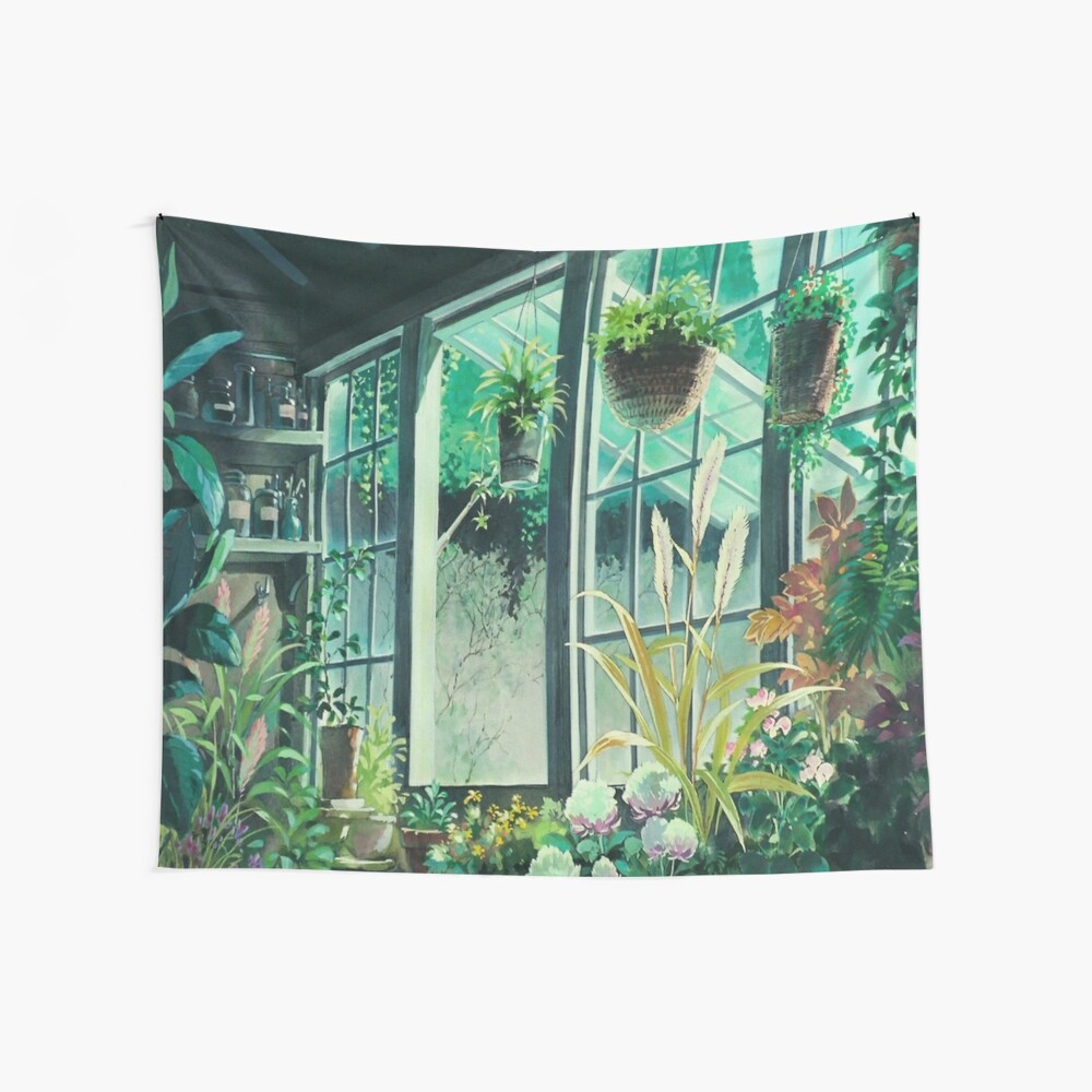 Kiki's Delivery Service Ghibli Studio Wall Tapestry