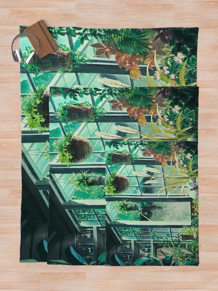 Alternate view of Kiki's Delivery Service Ghibli Studio Throw Blanket