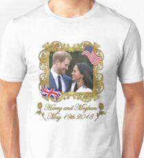 Prince Harry and Meghan Markle Unisex T-Shirt