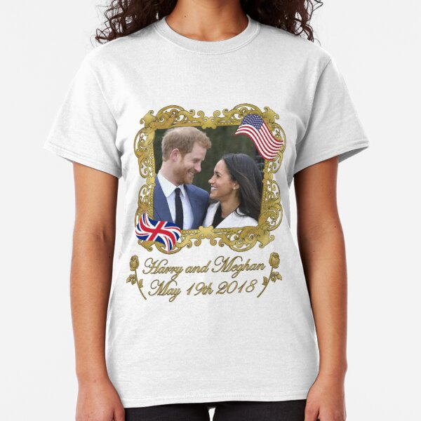 Prince Harry and Meghan Markle Classic T-Shirt