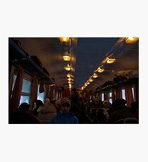 Train travel Photographic Print