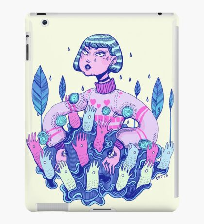 Touch rules iPad Case/Skin