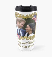 Prince Harry and Meghan Markle Travel Mug
