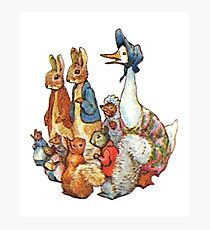 The tale of Pigling Bland. Beatrix Potter Photographic Print