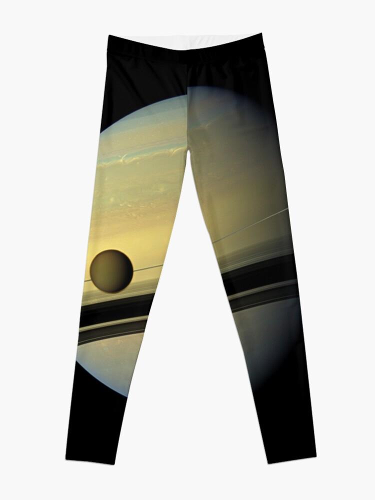 Alternate view of Picture, illustration, structure, framework, composition, frame, texture, form Leggings