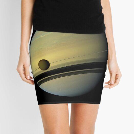 Picture, illustration, structure, framework, composition, frame, texture, form Mini Skirt