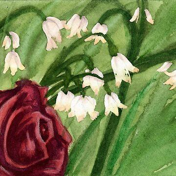 Lily Rose by bdesantisart
