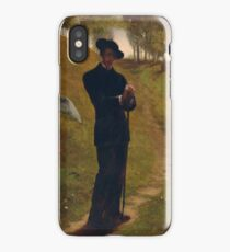 John La Farge  American, 1835–1910  Portrait of the Painter iPhone Case/Skin